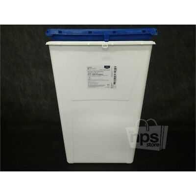 """McKesson 2257 Pharmaceutical Waste Container w/Lid 24.68HX17.3WX13""""L, 18Gal.*"""