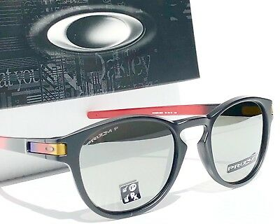 f438d6117e NEW  Oakley LATCH Ruby Fade w PRIZM POLARIZED Black Iridium Sunglass 9265-26