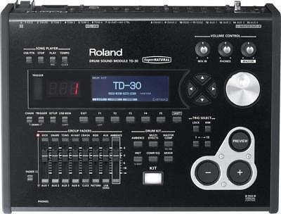 Roland drum sound module TD-30 AC100V from Japan EMS w/ Tracking NEW