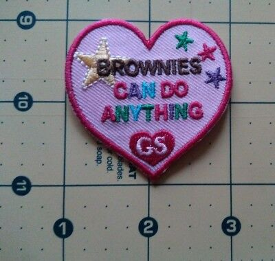 Girl Scout Brownies Can Do Anything Patch