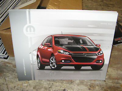 2013 Dodge Dart Accessories 12-page Original Dealer Brochure SALES MANUAL BOOK