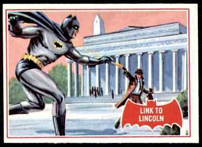 1966 Batman Red Bat Link To Lincoln #17A Ex-Mt   Ote1