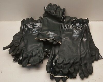 New Box of 12 Pairs Showa Best 3414 Chemical Resistant Gloves Size 11
