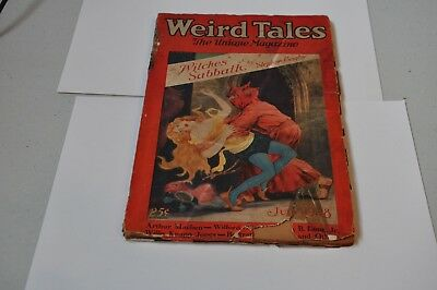 Weird Tales July 1928
