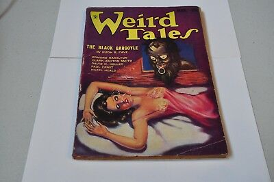 Weird Tales March 1934- Brundage cover