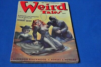 Weird Tales September 1938 Brundage cover