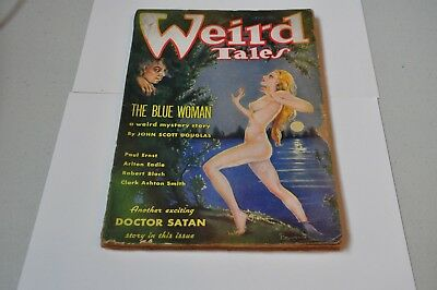 Weird Tales September 1935- Brundage cover