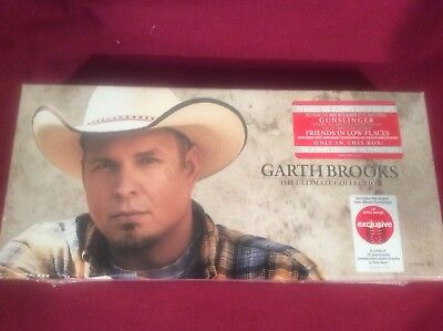 Garth Brooks - The Ultimate Collection Exclusive 10 Disc Box Set NEW SEALED