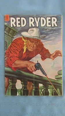 1954 Red Ryder Comic Book-The Musical Clue-Dell Comics-Western Color Illustrated