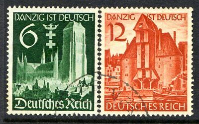 Germany Postage Stamps Scott 492-493, Used Complete Set!! G2356b