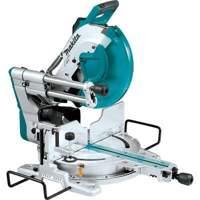 MAKITA 15 Amp 12 in. Dual-Bevel Sliding Compound Miter Saw w Laser LS1219L NEW