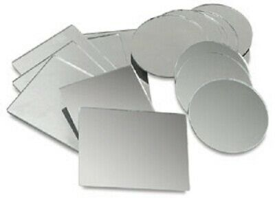 Bulk 12 pieces Round or Square Centerpiece Mirrors for Wedding Table 4in - 12in