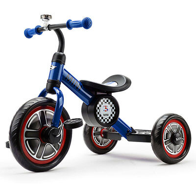 Kids Tricycle - Trike Ride-On Toy Bike Toddler Tandem - Missing Pedals