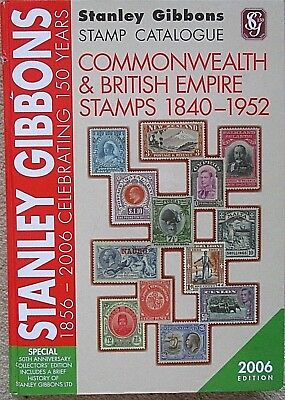 Stanley Gibbons Commonwealth & British Empire Stamps 1840-52 Catalogue-2006.