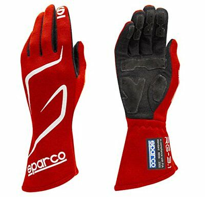 Sparco 00130808RS Land RG3.1 Gloves SFI 3.3/5 Red Size 8 (X-Small)