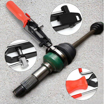 Automotive Car CV Joint Boot Clamp Pliers Banding Crimper Cutting Tool Ear Type