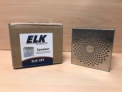 Elk-1Rt Speaker In Ss Enclosure With Sealed Reed Tamper Switches - New