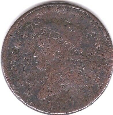 1808 Classic Head Large Cent (S-278) - VG Detail