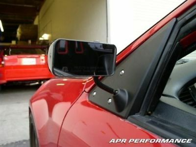 APR Performance Carbon Fiber GT3 Side Mirrors For Honda Civic Coupe EG 92-95