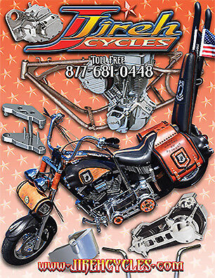Jireh Cycles 2018 Parts and Accessory Catalog with Price List, Paper Version