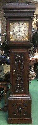 Antique Long-case Grandfather Clock Beaminster