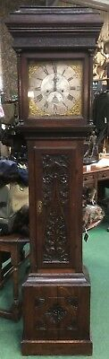 Antique Long-case Grandfather Clock George Eveleigh Beaminster