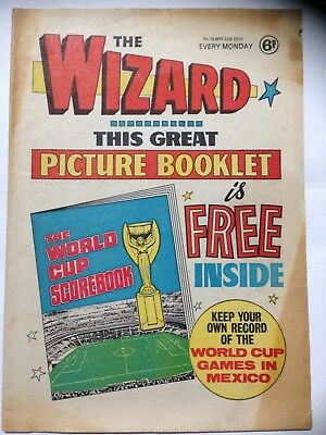 DC Thompson THE WIZARD Comic. May 16th 1970. **Free UK Postage**