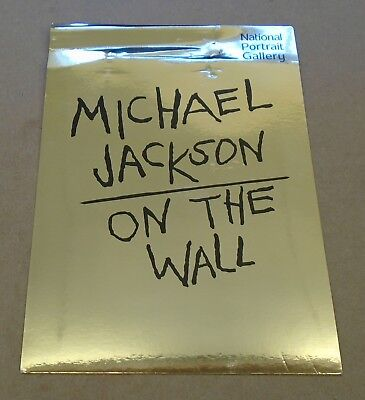 MICHAEL JACKSON On The Wall UK National Portrait Gallery Private View Invite