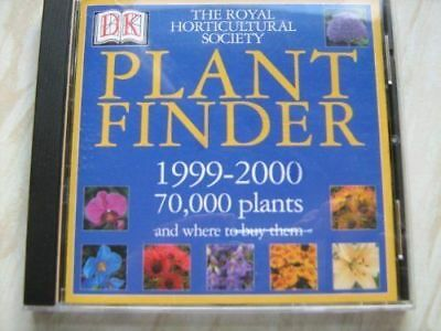RHS Plant Finder 1999-2000 (CD-ROM) for Windows