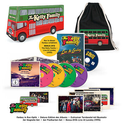 The Kelly Family - We Got Love Live  Loreley (Limited Fanbox) - (CD + DVD Video)