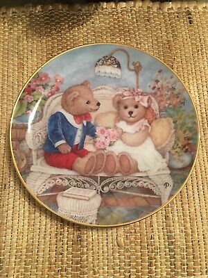 "Vintage Franklin Mint Heirloom Collection ""First Anniversary"", #LA4783"