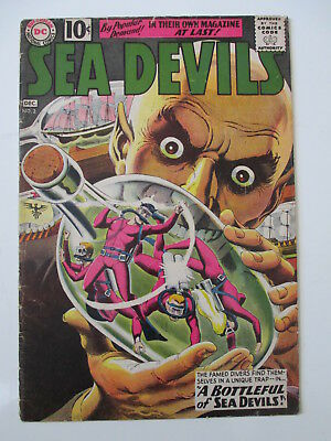 Sea Devils 2  Good  (Loose Cover) (Combined Shipping) (See 12 Photos)