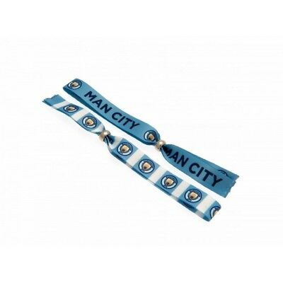 Manchester City Festival Wristbands Pack Of 2 (BS1240)