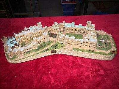 Windsor Castle by Danbury Mint Castles Of The British Monarchy 1995