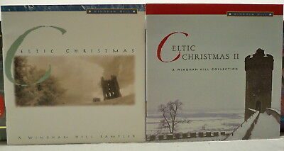 Lot of Two Windham Hill Collection Celtic Christmas CDs Holiday Music Track List