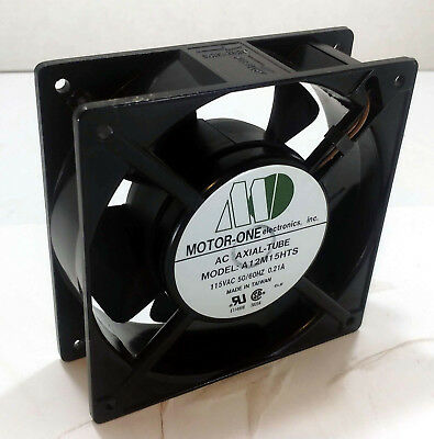 1 New Motor-One A12M15Hts Axial Fan 115Vac 50/60Hz 0.21A Nnb ***Make Offer***