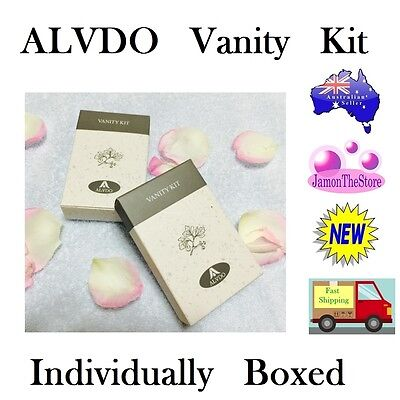 Alvdo Vanity Kit Cotton and Cotton Bud Individually Boxed Guest Hotel Amenities