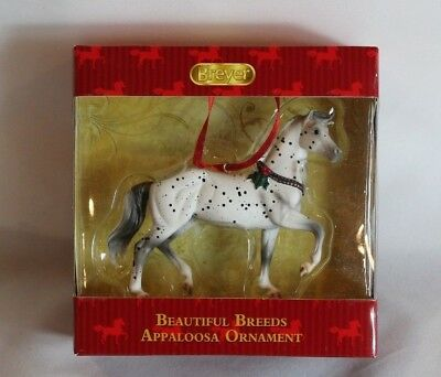 Breyer 2014  Beautiful Breeds Appaloosa Ornament 12Th In Holiday Series # 700514