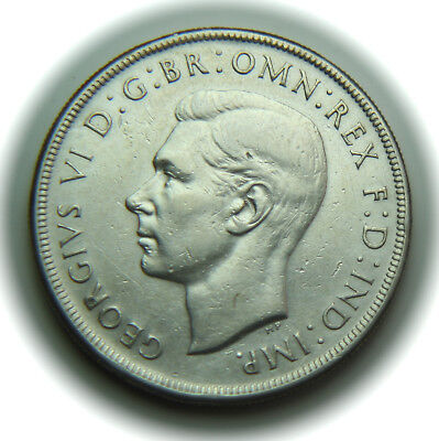 1937 Australia Silver Crown - George VI - No Reserve!
