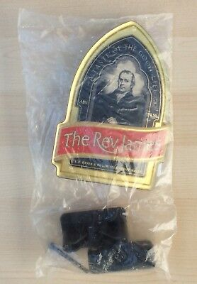 S. A. BRAIN & Co The Rev. James Plastic Beer Pump Badge & Clip
