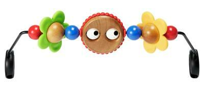 New BabyBjorn Wooden Toy For Bouncer Googly Eyes Playtime Kids Educational