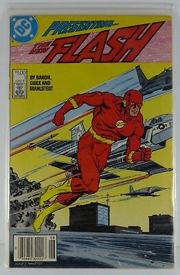 The Flash #1 (DC Comics, June 1987) Premiere Issue, New Series