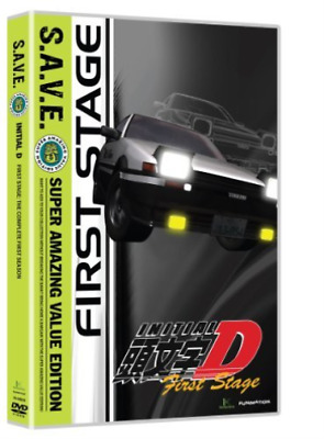 Initial D: Stage One - Save...-Initial D: Stage One - Save (4Pc) / (Box) Dvd New