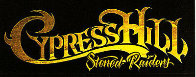 Cypress Hill Stoned Raiders / Rise Up RARE promo stickers