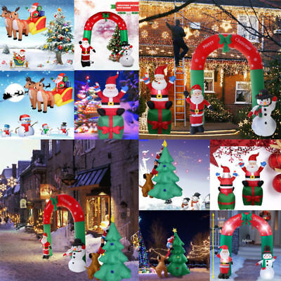 Huge Inflatable Santa Snowman Xmas Christmas Outdoor Indoor Decors Party Home AU