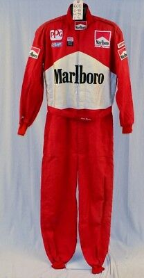 Vintage Paul Tracy Marlboro Penske INDY Racing Suit. Race Used #6017 c48/w38/i31