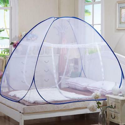 Fold Portable Mosquito Net Standing Tent Dual Door Netting Protection Best