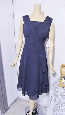 *NWT* Mother Of The Bride Dress by Secret Castle-Size 12- Dark Navy