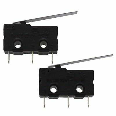 5 Pcs Micro Limit Switch Roller Arm Subminiature SPDT Snap Action Switch Bl T1B6