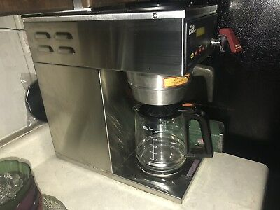 Curtis 12 Cup Coffee Brewer With One Lower And Two Upper Warmers